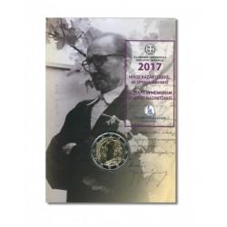 Griekenland 2 euro 2017 'Kazantzakis' in coincard