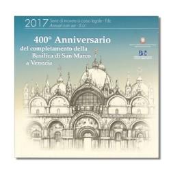Italië BU-Set 2017 + speciale 2 euro 2017 'San Marco - Venetië'