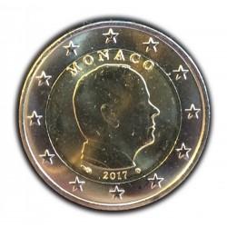 Monaco 2 euro 2017 circulatiemunt