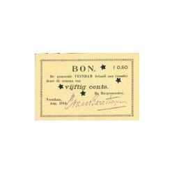 Veendam 50 cent 1914