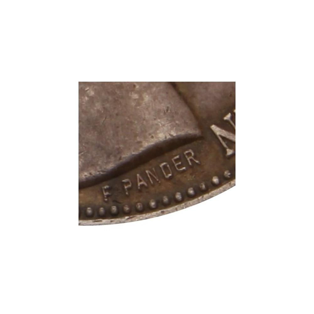 Koninkrijksmunten Nederland 2½ gulden 1898 zonder punt