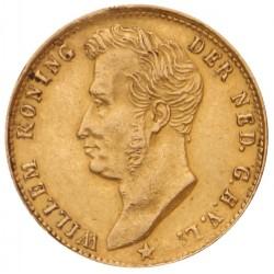 Koninkrijksmunten Nederland 5 gulden 1827B met open B (B=R)