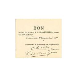 Wolphaartsdijk 1 gulden 1914