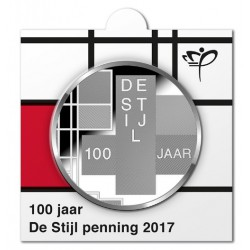 Nederland Officiële munthouder '100 jaar De Stijl'