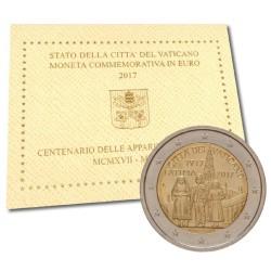 Vaticaan 2 euro 2017 in blister 'Fatima'