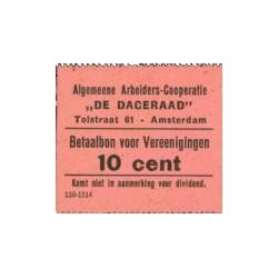 De Dageraad, Amsterdam 10 cent 1914