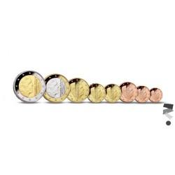 Nederland serie euromunten 2015 'Muntmeesterteken Koerszettende Zeilen met ster'