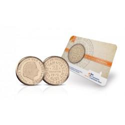 Nederland Historische munt in coincard: Unie van Utrecht Rijksdaalder 1979