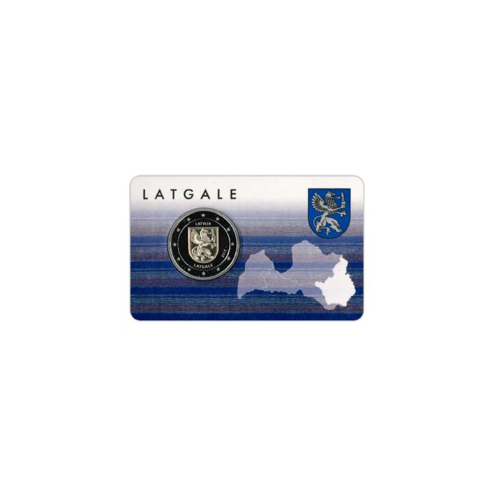 Letland 2 euro 2017 'Latgale'