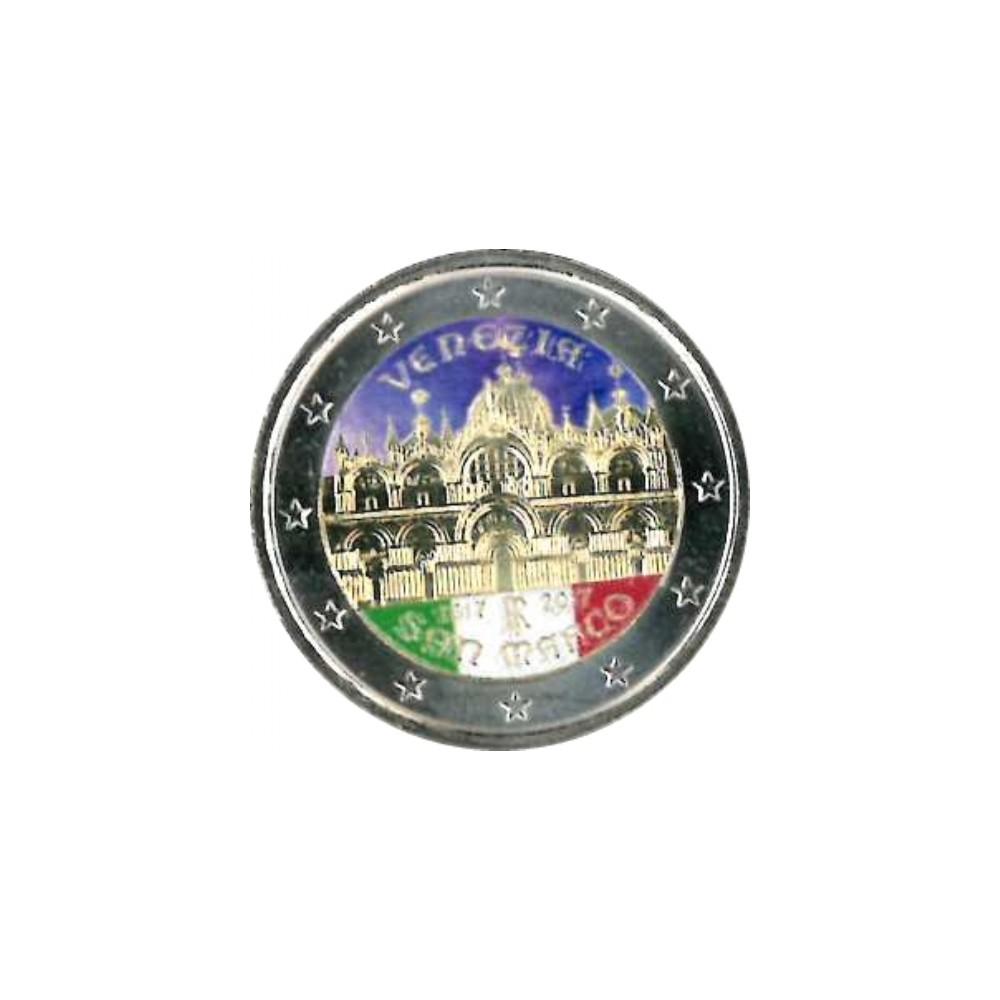 T3 Italië 2017 - 2 euro '400 jaar basiliek San Marco Venetie'