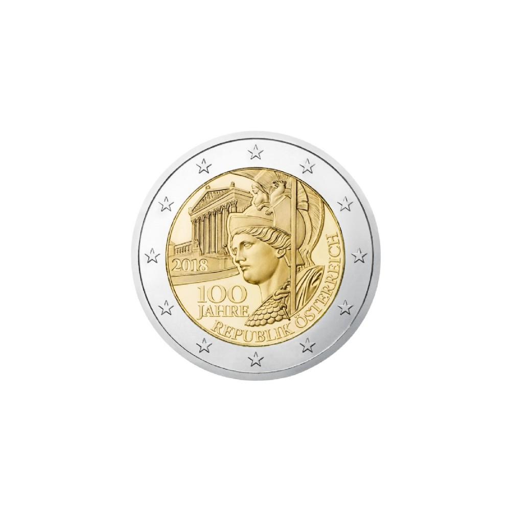 Oostenrijk BU-Set 2018 '100 jaar republiek'