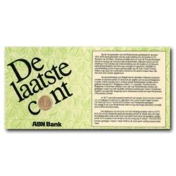 Koninkrijksmunten Nederland 1 cent 1980 - De laatste cent