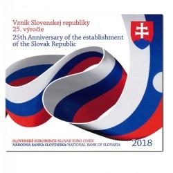 Slowakije BU-Set 2018 '25 jaar Slowaakse Republiek'