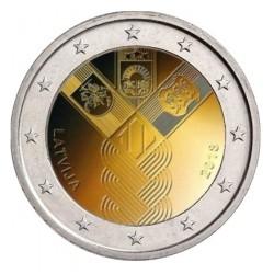 Letland 2 euro 2018 'Baltische Staten'
