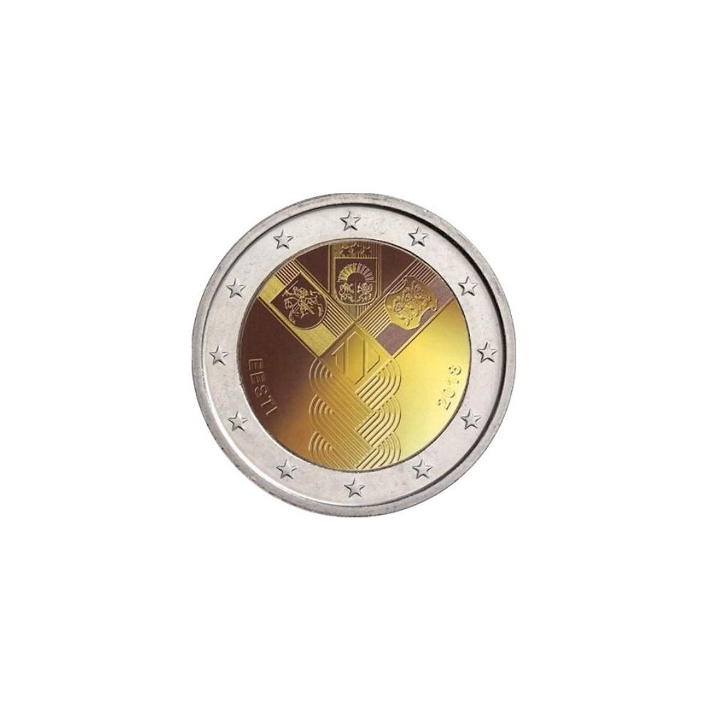Estland 2 euro 2018 'Baltische Staten'
