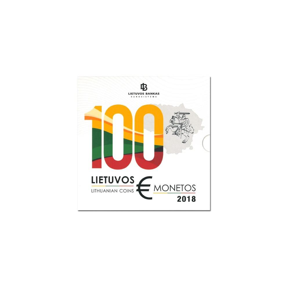 Litouwen BU-Set 2018 '100 jaar Republiek Litouwen'