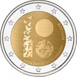 Estland 2 euro 2018 '100 jaar republiek Estland'