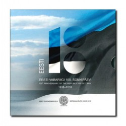 Estland BU-Set 2018 '100 jaar republiek Estland'