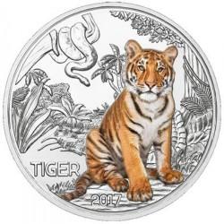 Oostenrijk 3 euro 2017 'Tijger'