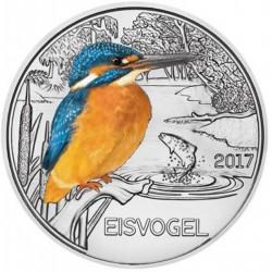 Oostenrijk 3 euro 2017 'IJsvogel'