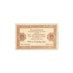 25 cent M.S. Indrapoera, 15 Juli 1948
