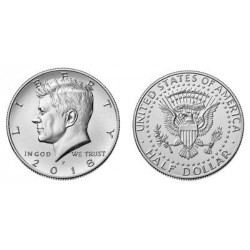 USA Half Dollar Kennedy 2018