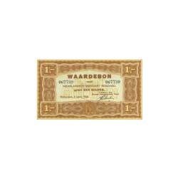 1 gulden bruin, Waardebon voor Nederlandsch Rijnvaart Personeel 1946