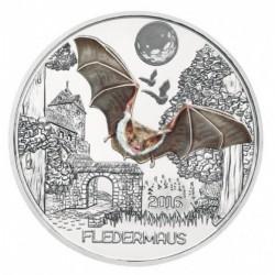 Oostenrijk 3 euro 2016 'Vleermuis'