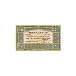 2,50 gulden groen, Waardebon voor Nederlandsch Rijnvaart Personeel 1946