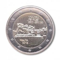 Malta 2 euro 2018 'Mnajdra Tempels' mét F in onderste ster