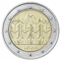 Litouwen 2 euro 2018 'Zang en Dans'