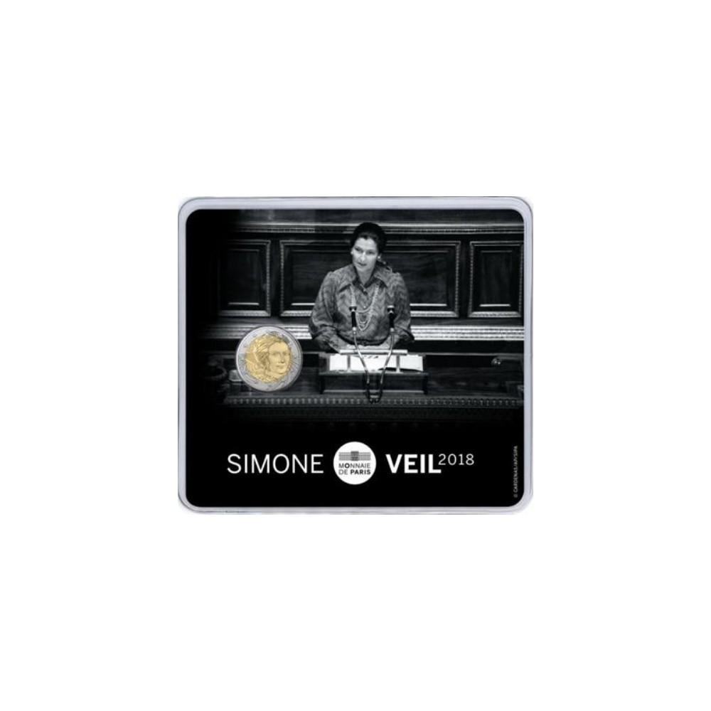 Frankrijk 2 euro 2018 'Simone Veil'