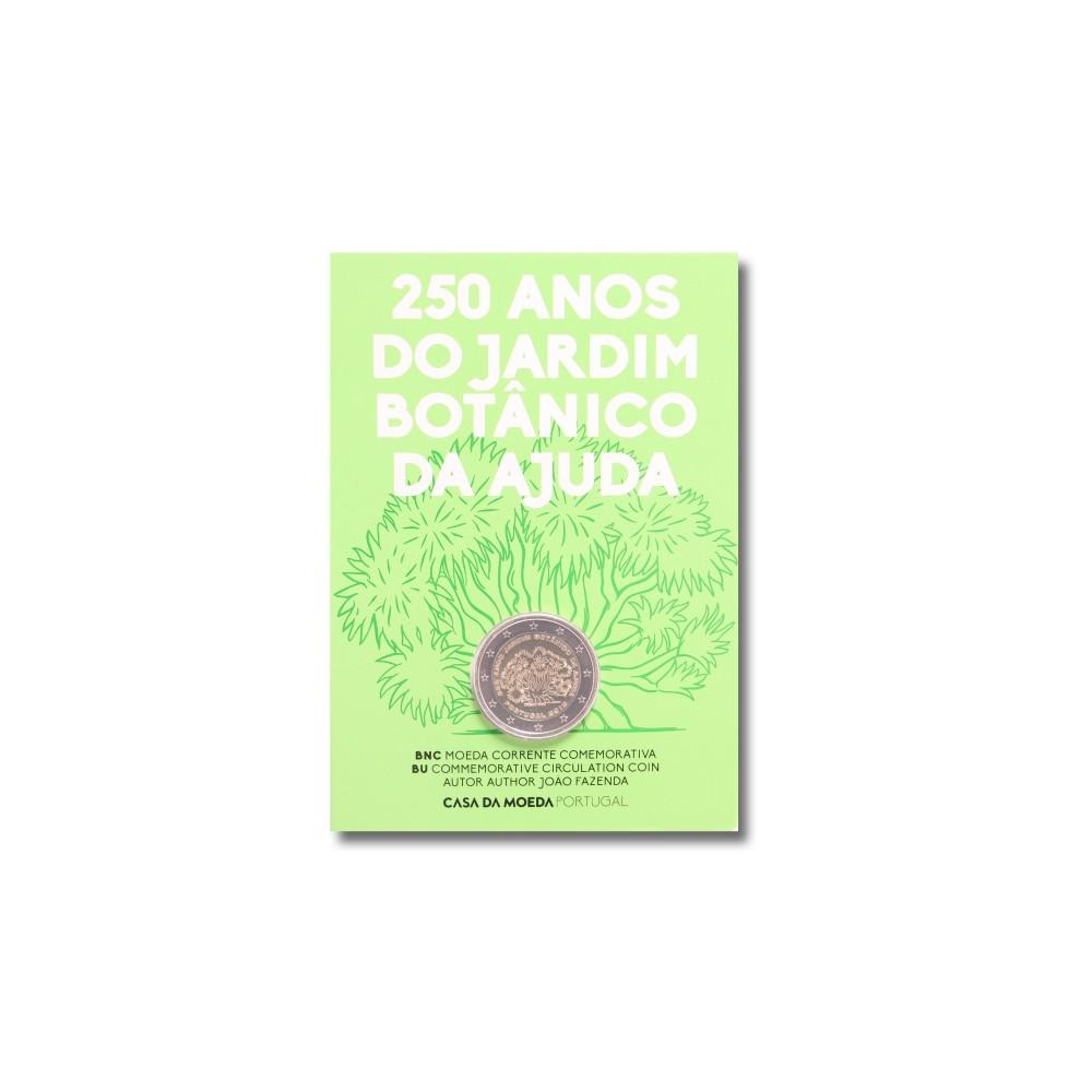 Portugal 2 euro 2018 'Botanische Tuin'