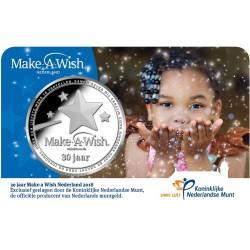 """Make a Wish"" Penning 2018 in coincard - Maximaal 10 stuks per klant - Direct leverbaar"