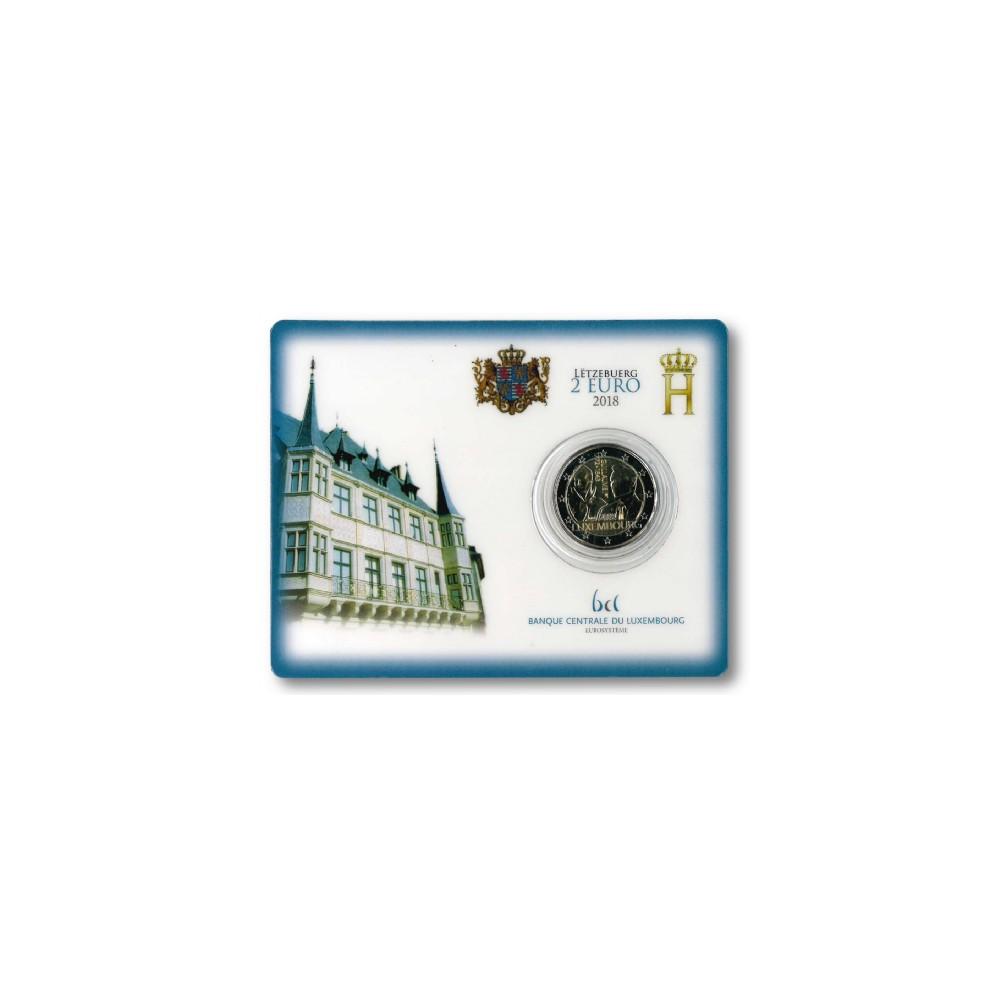 Luxemburg 2 euro 2018 'Willem 1 - Guillaume I'