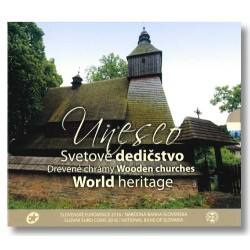 Slowakije BU-Set 2018 'World Heritage Unesco'