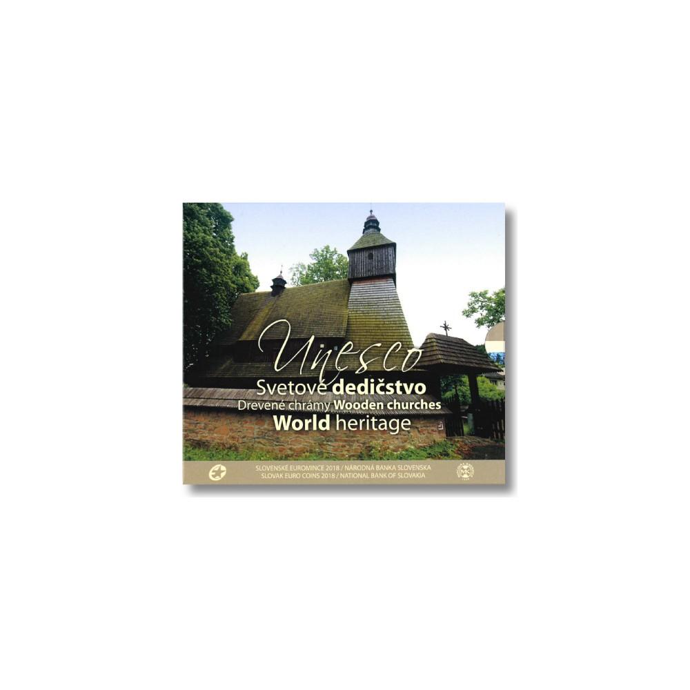Slowakije BU-Set 2018 'World Heritage Unesco'
