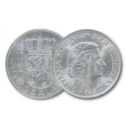Koninkrijksmunten Nederland Koninkrijksmunten Nederland 2½ gulden in zilver, diverse jaren