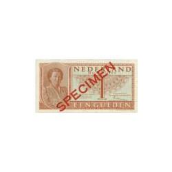 Nederland 1 Gulden 1949 'Juliana' Specimen