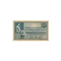 Nederland 100 Gulden 1921 'Grietje Seel' Specimen