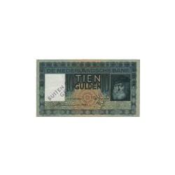 Nederland 10 Gulden 1933 'Grijsaard' Buiten omloop gesteld
