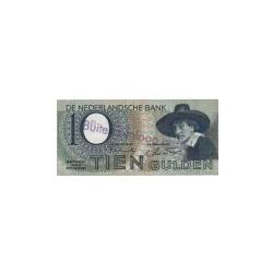 Nederland 10 Gulden 1943 I 'Staalmeester' Buiten omloop gesteld