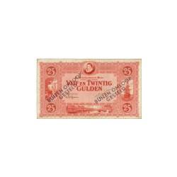 Nederland 25 Gulden 1921 'Willem van Oranje' Buiten omloop gesteld
