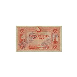 Nederland 25 Gulden 1929 'Willem van Oranje' Buiten omloop gesteld