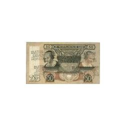 Nederland 50 Gulden 1941 'Oestereetster' Buiten omloop gesteld