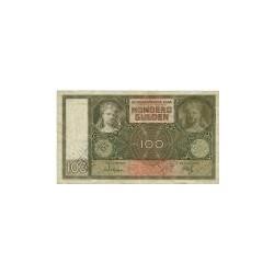 Nederland 100 Gulden 1930 'Luitspelende vrouw'  Buiten omloop gesteld