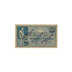 Nederland 100 Gulden 1921 'Grietje Seel' Buiten omloop gesteld