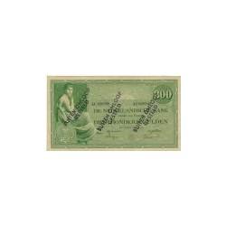 Nederland 300 Gulden 1921 'Grietje Seel' Buiten omloop gesteld