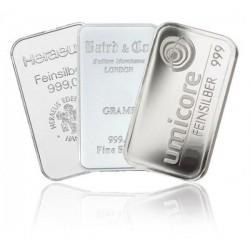 Zilverbaar 50 gram