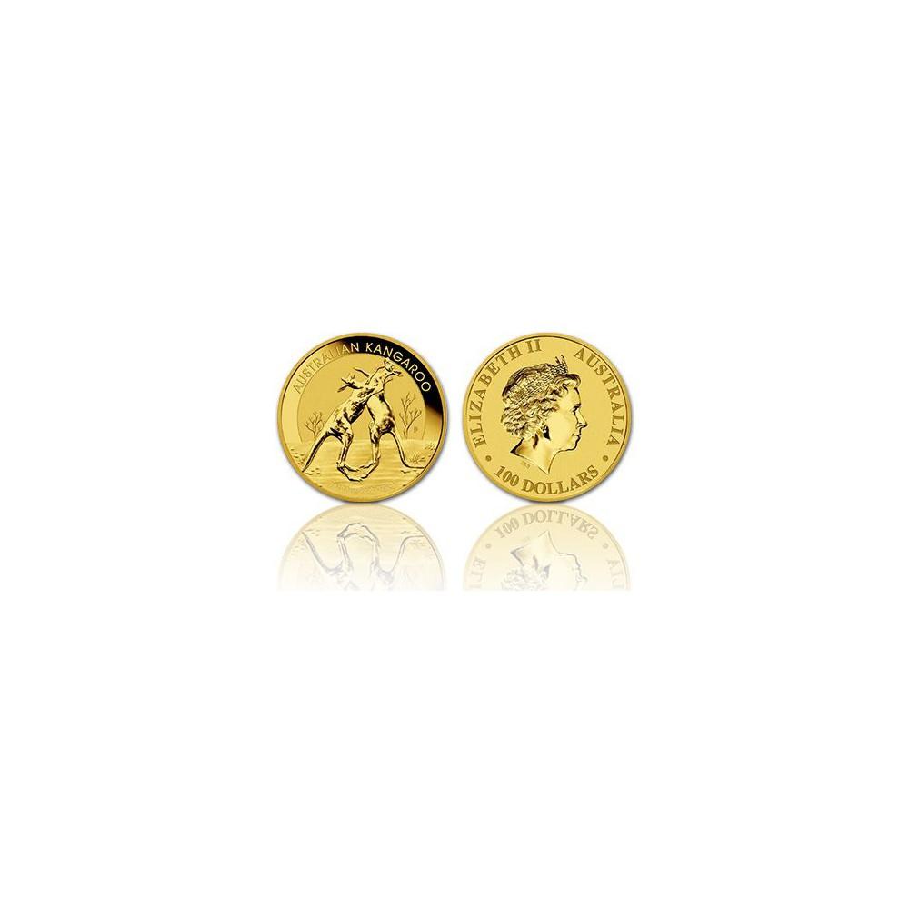 Australië 100 Dollars - Kangaroo 1 OZ. goud